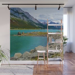 Medicine Lake in the Maligne Valley of Jasper National Park, Canada Wall Mural