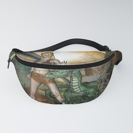 Dragon with fairy Fanny Pack