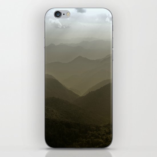Caught in a mood... iPhone & iPod Skin