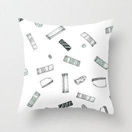 Gum Pattern Throw Pillow