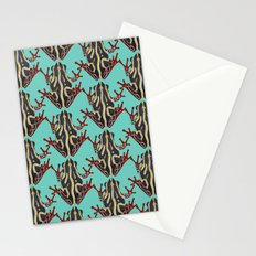 congo tree frog mint Stationery Cards