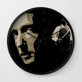 Juxtapose V Wall Clock