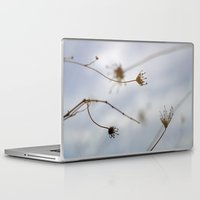 """wind Laptop & iPad Skins featuring """"Wind"""" by Guido Montañés"""