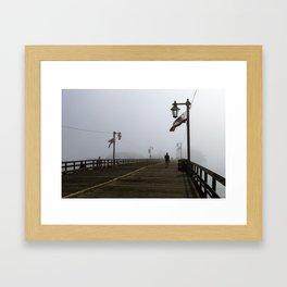 Early Morning Fog Framed Art Print