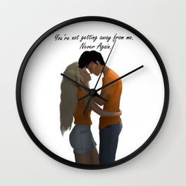 Percabeth Wall Clock