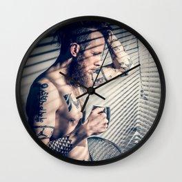morning vibes Wall Clock