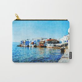 Little Venice at Mykonos Carry-All Pouch