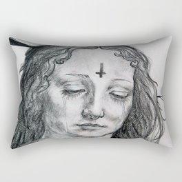 Satanic Virgin Rectangular Pillow