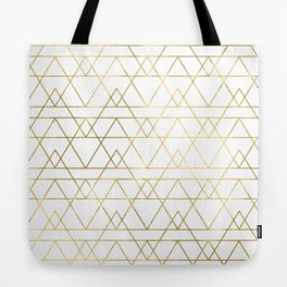 Modern Gold Tote Bag