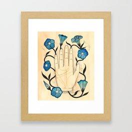 Empty/Bloom Framed Art Print