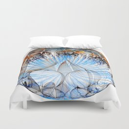Colored Sphere Duvet Cover