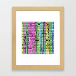 Jitter or stutter excess put on row in old lunges. Framed Art Print