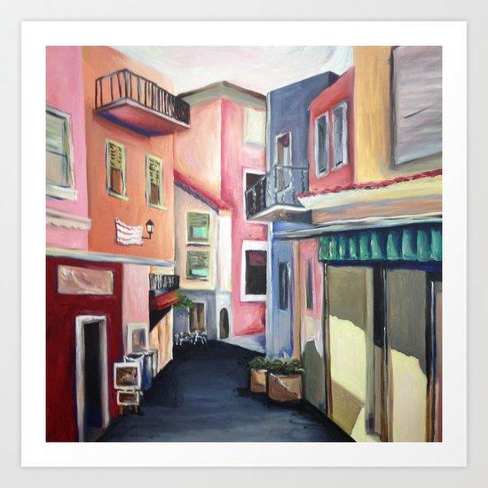 Villas Art Print