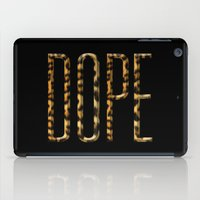dope iPad Cases featuring DOPE by KARAM