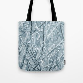 Springtime Pussy Willows Tote Bag