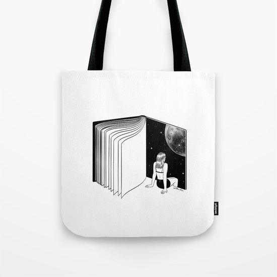 Reading is Dreaming with Your Eyes Open Tote Bag