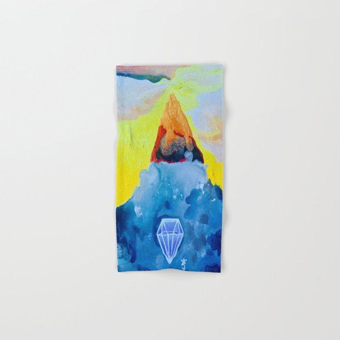 Fire and Ice Hand & Bath Towel