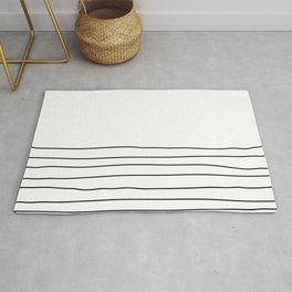 Representation of a calm mind Rug