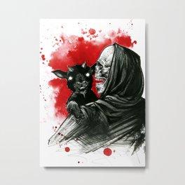 Mama´s little devil Metal Print