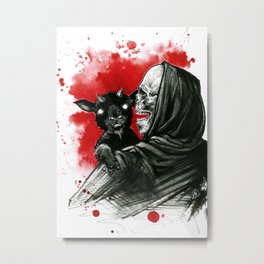 Mama´s little devil Metal Print