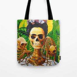 Frida vive Tote Bag