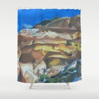 dune Shower Curtains featuring Dune by Ana Rafael