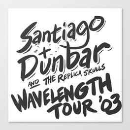 Santiago + Dunbar Wavelength Tour '03 Canvas Print
