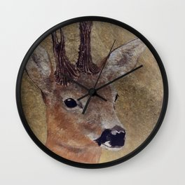 out in the woods -2- Wall Clock
