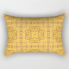 Yellow ornament Rectangular Pillow