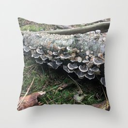 Fairies. Rushmere Country Park, Bedfordshire Throw Pillow