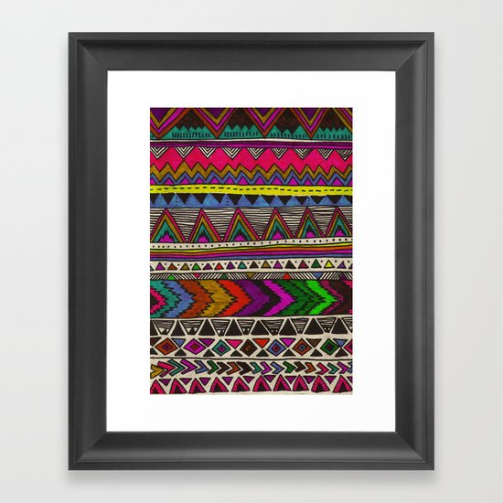▲PONCHO ▲ Framed Art Print