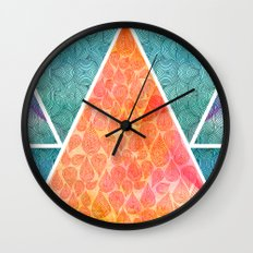 Pyramids of Giza Wall Clock