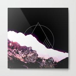 Mountain Ride Metal Print