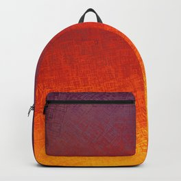 Color Field of Fire Backpack