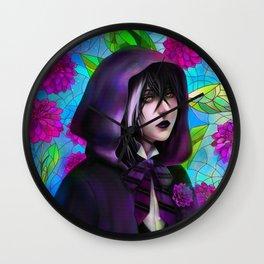 Gregory Violet Wall Clock