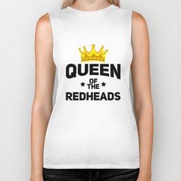 Queen of the redheads. Biker Tank