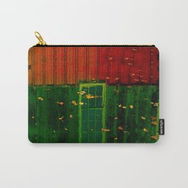 Secrets Under Fall Leaves Carry-All Pouch
