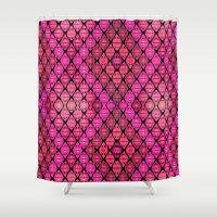 kilim Shower Curtains featuring Kilim by EllaJo Design