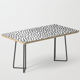 Dalmatian Spots (black/white) Coffee Table