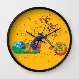 ap127-8 Motorcycle Wall Clock