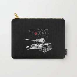 T-34-Tank-Soviet Union-War-WW II Carry-All Pouch
