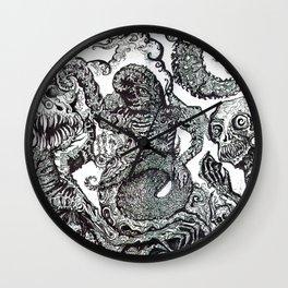 ' Planet Luv '  By: Matthew Crispell Wall Clock