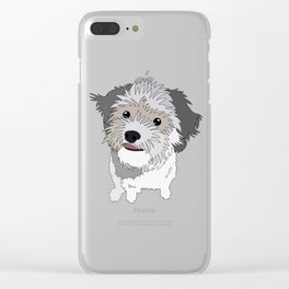 Archie Clear iPhone Case