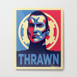 Vote Thrawn Metal Print
