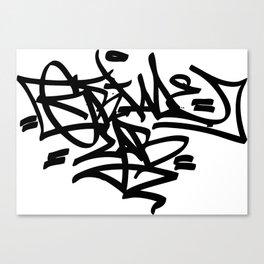 Grime Lab Graffiti Canvas Print