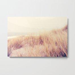 wind on the dunes Metal Print