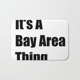 Bay Area California Bath Mat