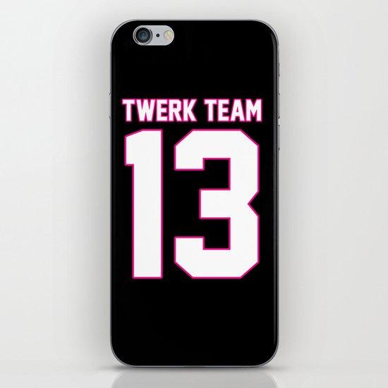 #TWERKTEAM13 iPhone & iPod Skin