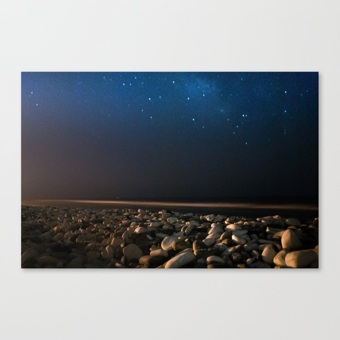 Beach nights Canvas Print