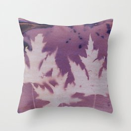 Cyanotype No. 11 Throw Pillow